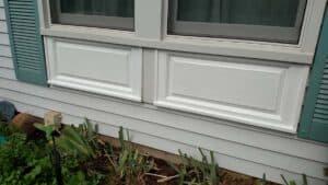 under window trim