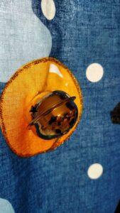 closeup of jingle bell