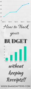 track your budget graphic